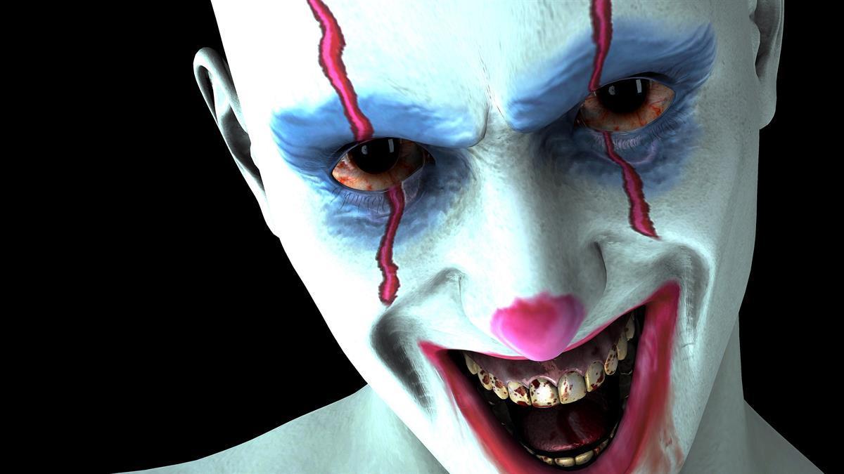Evil Clowns Windows Screen Savers
