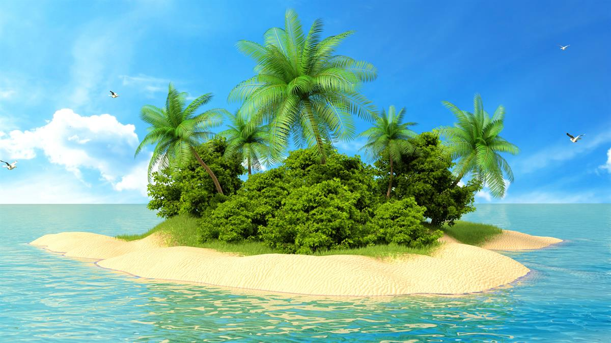 Tropical Island Beach Ambience Sound: Windows Screen Savers