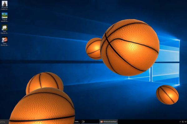 Desktop Basketballs