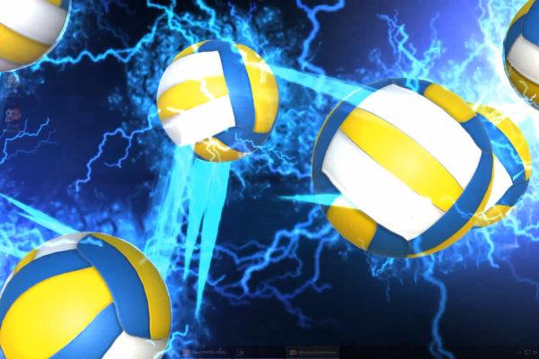 Lightning Volleyball