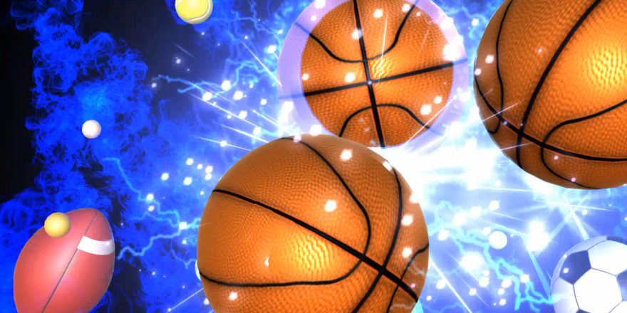 Lightning Sports Ball Explosion