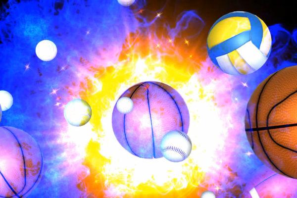3D Sports Balls