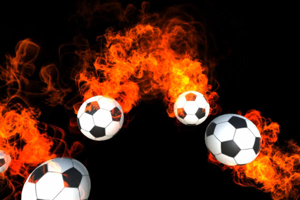 Blazing Soccer Balls