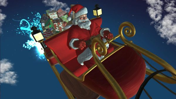 Santa Clause is on His Way